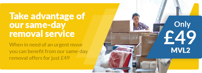 Same-day Removal Services ar Low Prices