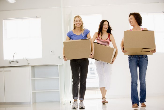 moving with the help of friends