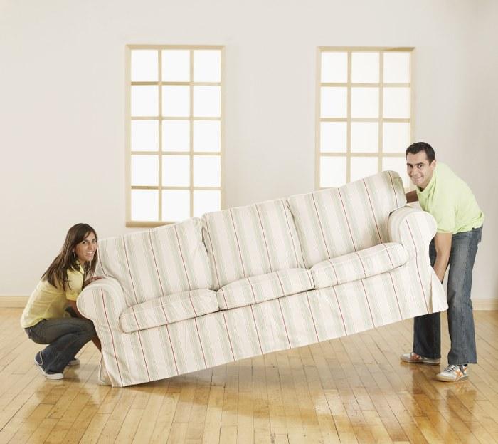 moving big furniture
