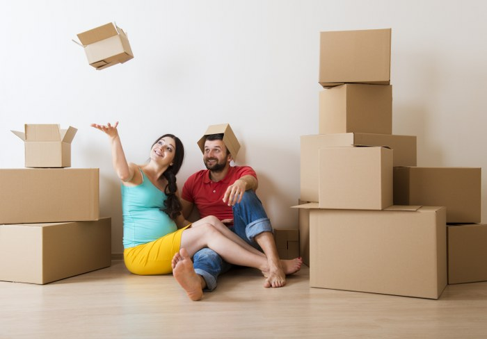 moving when pregnant