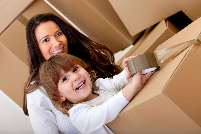 moving home as a single parent