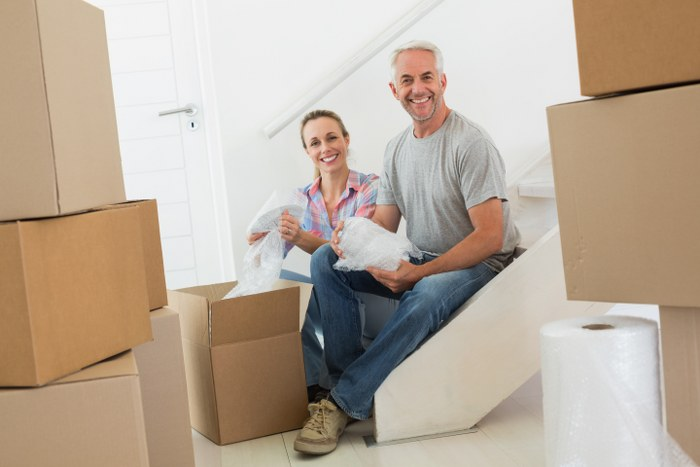 pack moving boxes