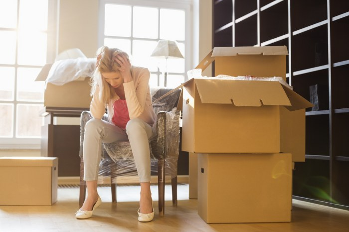 stress of house removals