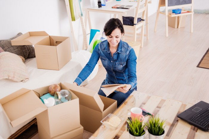 downsize before house relocation