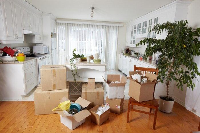 unpack the essentials moving box