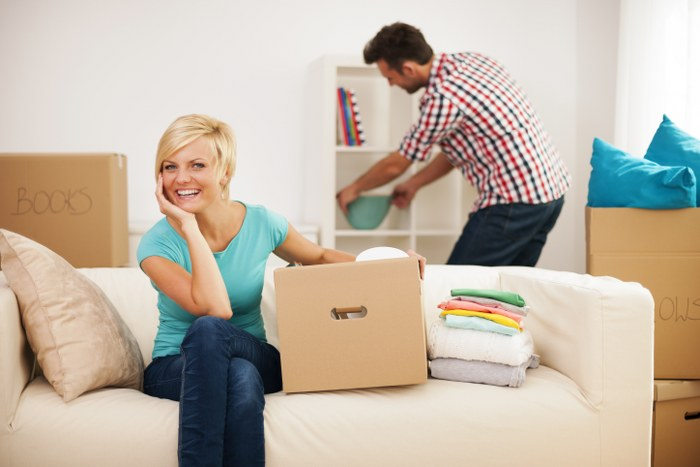 organise the home after relocation