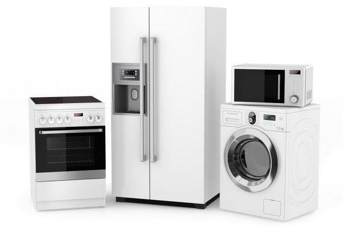secure storage for appliances