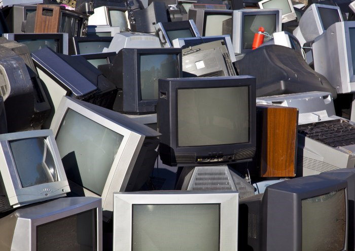 old electronic appliances