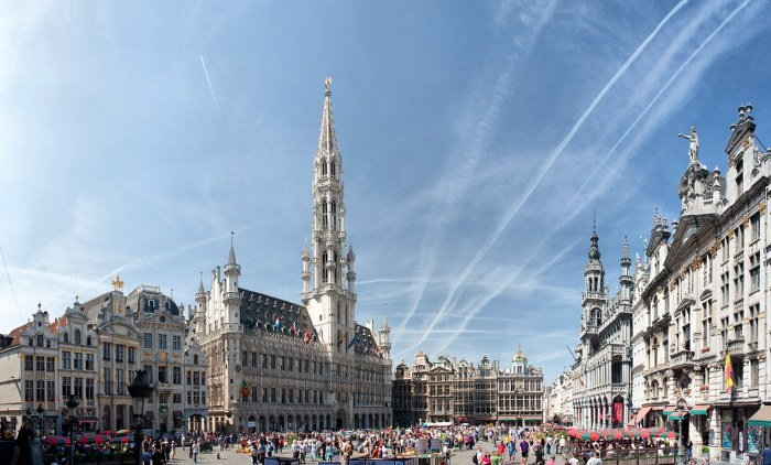 international removals to Brussels