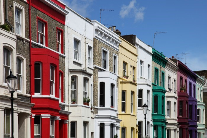 moving house to Notting Hill