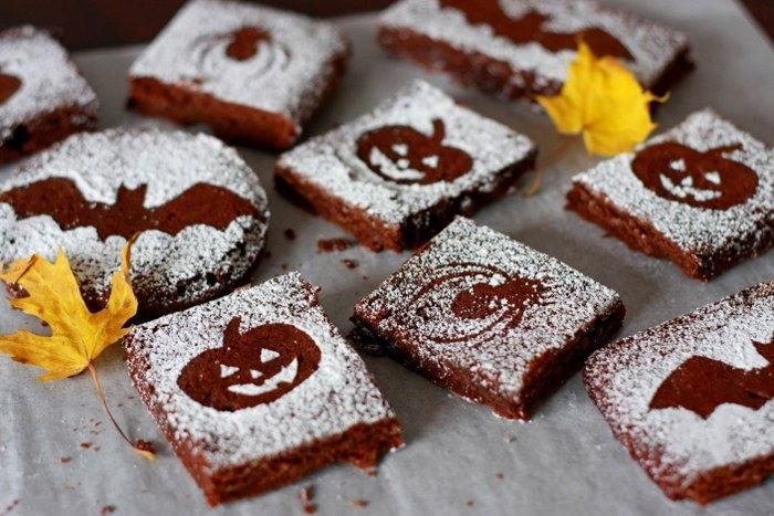 Halloween brownies