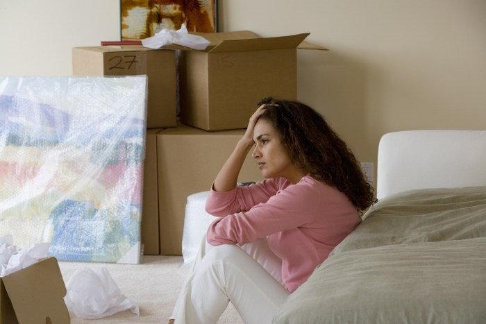 post-relocation depression