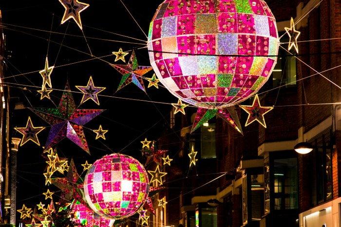 Winterville Christmas village
