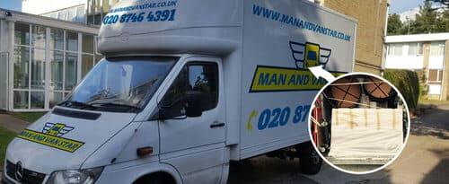 Grahame Park moving vans NW9