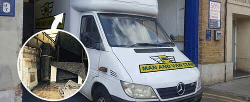 Docklands office removal vans E14