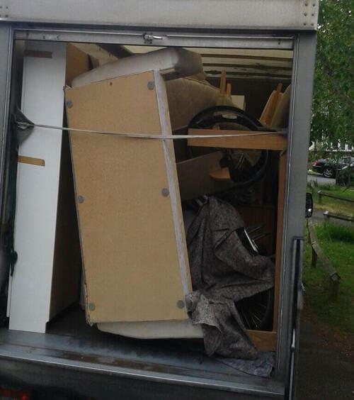 Kingston upon Thames moving vans for hire KT2
