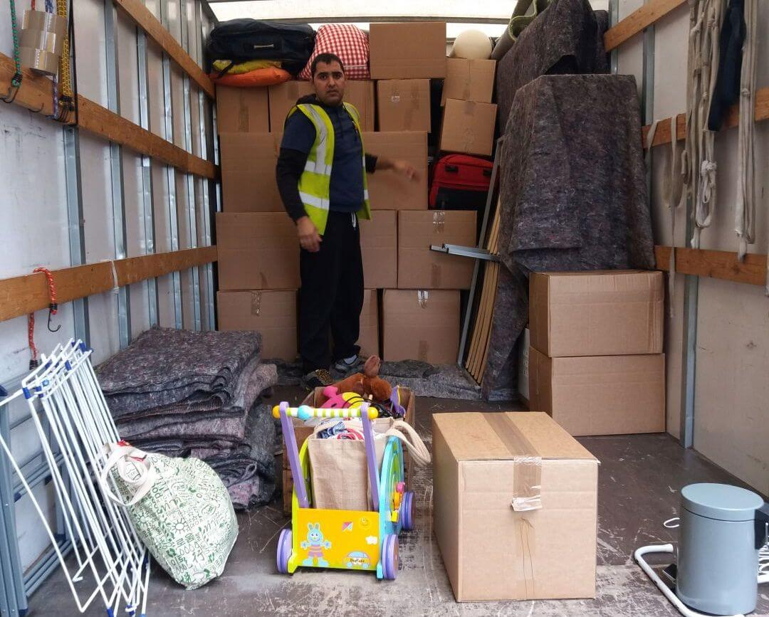 movers and packers West Green