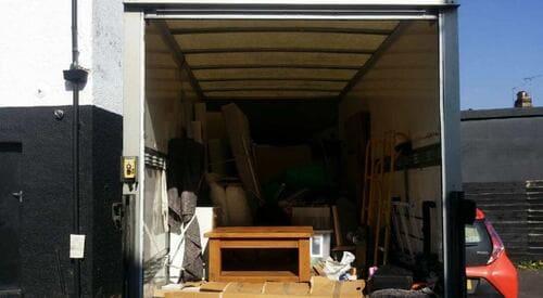 van removal service Arnos Grove