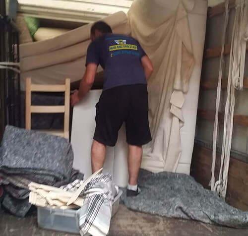 van removal service Cubitt Town