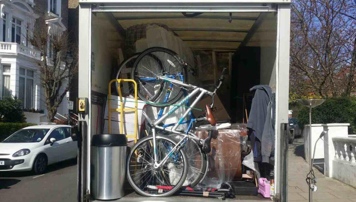 van removal service Edmonton