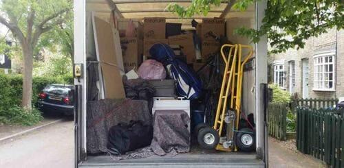 van removal service Fulham