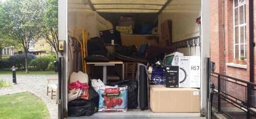 van removal service Heston