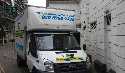 van removal service Homerton