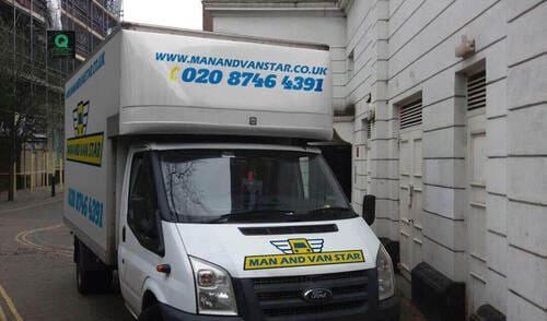 a man and a van WC2