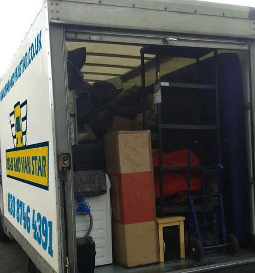 W1 man with a van hire Tottenham Court Road